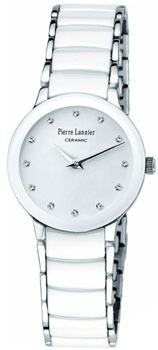 Наручные женские часы Pierre Lannier 008d990 (Коллекция Pierre Lannier Elegance Ceramic)