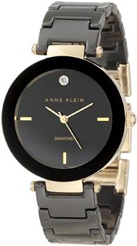Наручные женские часы Anne Klein 1018bkbk (Коллекция Anne Klein Diamond)