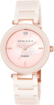 Наручные женские часы Anne Klein 1018pmlp (Коллекция Anne Klein Diamond)