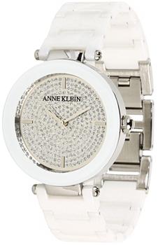 Наручные женские часы Anne Klein 1019pvwt (Коллекция Anne Klein Ceramics)