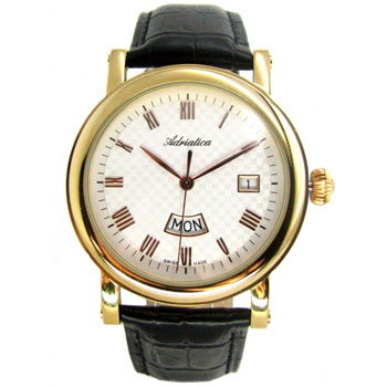 Наручные мужские часы Adriatica 1023.1233q (Коллекция Adriatica Gents)