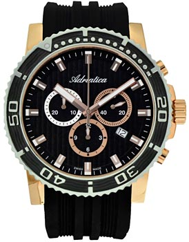 Наручные мужские часы Adriatica 1127.R214ch (Коллекция Adriatica Chronograph)