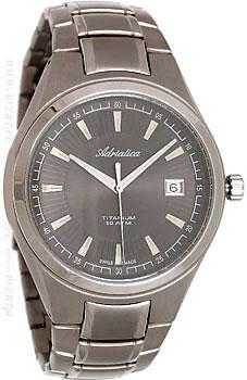 Наручные мужские часы Adriatica 1137.4116q (Коллекция Adriatica Titanium)