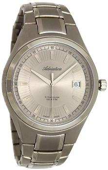 Наручные мужские часы Adriatica 1137.4117q (Коллекция Adriatica Titanium)