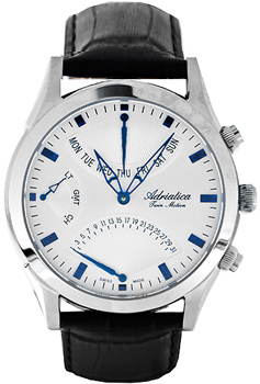 Наручные мужские часы Adriatica 1191.52b3ch (Коллекция Adriatica Twin)