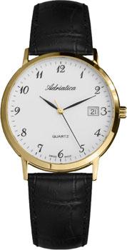 Наручные мужские часы Adriatica 1243.1223q (Коллекция Adriatica Twin)