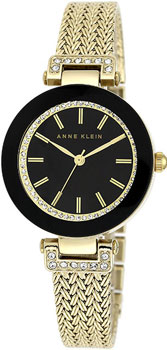 Наручные женские часы Anne Klein 1906bkgb