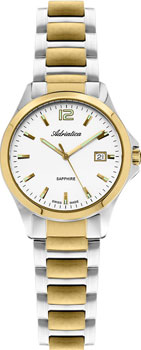 Наручные женские часы Adriatica 3164.2153q (Коллекция Adriatica Twin)