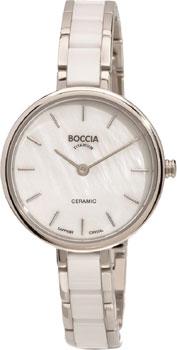 Наручные женские часы Boccia 3245-01 (Коллекция Boccia Ceramic)