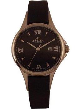 Наручные женские часы Appella 4344-3014 (Коллекция Appella Leather)