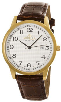Наручные мужские часы Appella 4371-1011