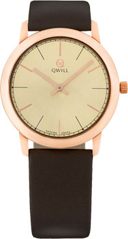 Наручные женские часы Qwill 6050.01.01.1.45a (Коллекция Qwill Classic)