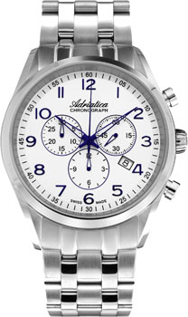 Наручные мужские часы Adriatica 8204.51b3ch (Коллекция Adriatica Chronograph)