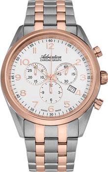Наручные мужские часы Adriatica 8204.R123ch (Коллекция Adriatica Chronograph)