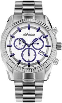 Наручные мужские часы Adriatica 8210.51b3ch (Коллекция Adriatica Chronograph)