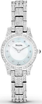 Наручные женские часы Bulova 96l149 (Коллекция Bulova Crystal)