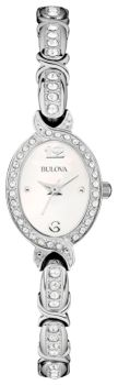 Наручные женские часы Bulova 96l199 (Коллекция Bulova Crystal)