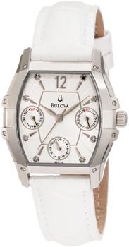 Наручные женские часы Bulova 96p126 (Коллекция Bulova Diamond)