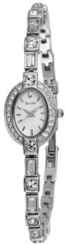 Наручные женские часы Bulova 96t49 (Коллекция Bulova Crystal)
