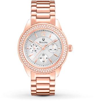 Наручные женские часы Bulova 97n101 (Коллекция Bulova Crystal)