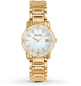 Наручные женские часы Bulova 98r165 (Коллекция Bulova Diamond)