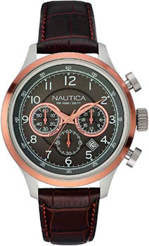 Наручные мужские часы Nautica A16686g (Коллекция Nautica Chrono)