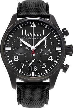 Наручные мужские часы Alpina Al-372b4fbs6