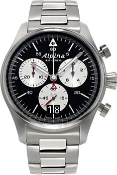 Наручные мужские часы Alpina Al-372bs4s6b