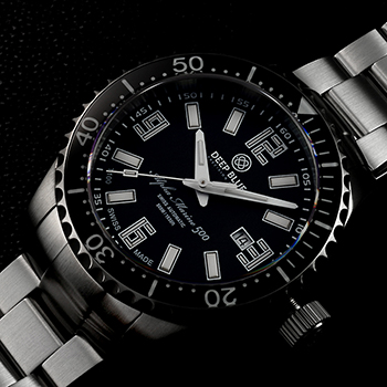 Наручные мужские часы Deep Blue Amt100blkblk