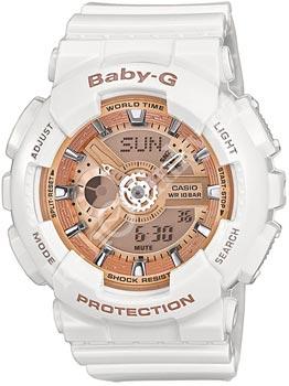 Наручные женские часы Casio Ba-110-7a1 (Коллекция Casio Baby-G)