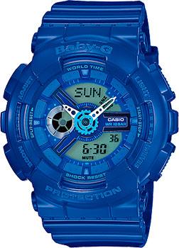 Наручные женские часы Casio Ba-110bc-2a (Коллекция Casio Baby-G)