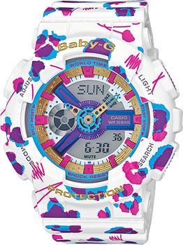 Наручные женские часы Casio Ba-110fl-7a