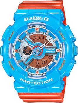 Наручные женские часы Casio Ba-110nc-2a (Коллекция Casio Baby-G)
