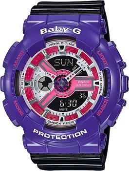 Наручные женские часы Casio Ba-110nc-6a (Коллекция Casio Baby-G)