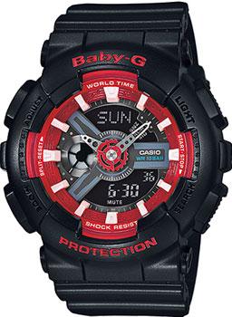 Наручные женские часы Casio Ba-110sn-1a (Коллекция Casio Baby-G)