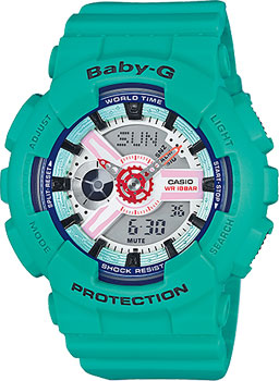 Наручные женские часы Casio Ba-110sn-3a
