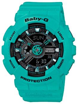 Наручные женские часы Casio Ba-111-3a (Коллекция Casio Baby-G)