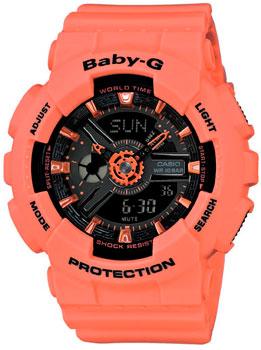 Наручные женские часы Casio Ba-111-4a2 (Коллекция Casio Baby-G)