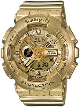 Наручные женские часы Casio Ba-111-9a (Коллекция Casio Baby-G)