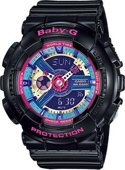 Наручные женские часы Casio Ba-112-1a (Коллекция Casio Baby-G)
