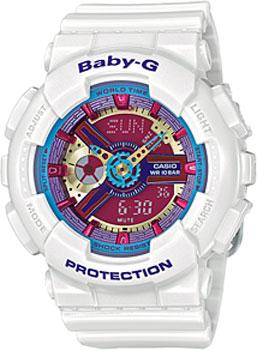 Наручные женские часы Casio Ba-112-7a (Коллекция Casio Baby-G)
