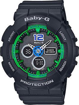 Наручные женские часы Casio Ba-120-1b (Коллекция Casio Baby-G)