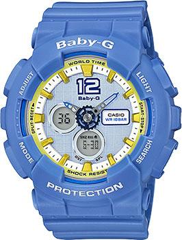 Наручные женские часы Casio Ba-120-2b (Коллекция Casio Baby-G)