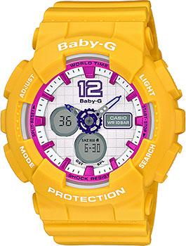 Наручные женские часы Casio Ba-120-9b (Коллекция Casio Baby-G)