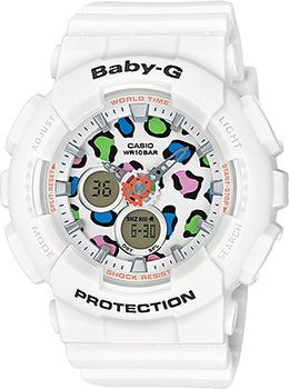 Наручные женские часы Casio Ba-120lp-7a1 (Коллекция Casio Baby-G)