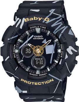 Наручные женские часы Casio Ba-120sc-1a (Коллекция Casio Baby-G)