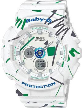 Наручные женские часы Casio Ba-120sc-7a (Коллекция Casio Baby-G)