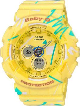 Наручные женские часы Casio Ba-120sc-9a (Коллекция Casio Baby-G)