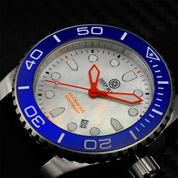 Наручные мужские часы Deep Blue Bluwhtqtzmop