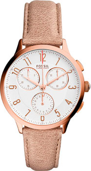 Наручные женские часы Fossil Ch3016 (Коллекция Fossil Chronograph)